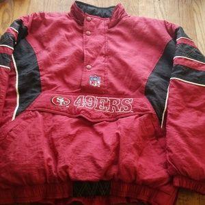 vintages 49's starter jacket